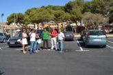 El Ayuntamiento construye un aparcamiento  que facilita el acceso a la pinada y el centro cívico, en el centro de Roda