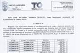 Nota de prensa IU Totana. Tribunal de Cuentas