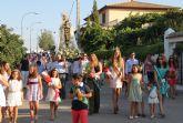 La pedanía de Góñar continúa con la celebración de sus fiestas patronales en honor a la Virgen del Carmen