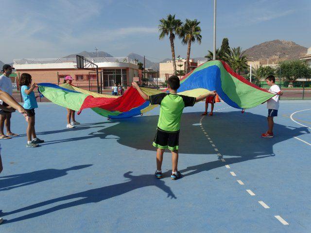 Treinta niños participan en la primera olimpiada de la risa - 1, Foto 1