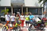 Finaliza con éxito la II Vuelta a España en vespino