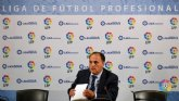 Javier Tebas: 'La Liga Adelante comienza este fin de semana y estará el CD Mirandés'