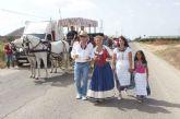 Carretas y carruajes se preparan para los 30 kilómetros de Romería de San Ginés