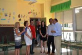Educación invertirá un millón de euros en la remodelación integral del Colegio Pascual Martínez Abellán de Pliego