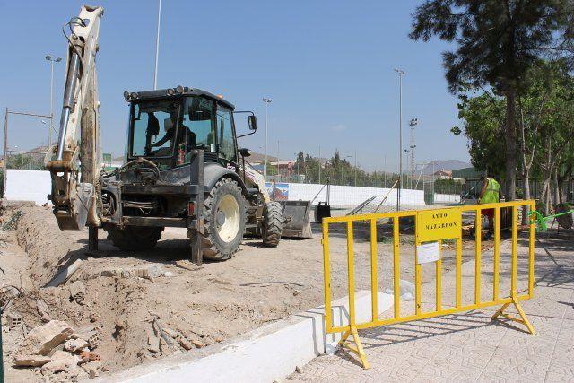 El ayuntamiento procede a la reparación del vallado del colegio Francisco Caparrós, Foto 4