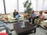 Reunión del consejero de Fomento con la Plataforma Pro-Soterramiento de Murcia