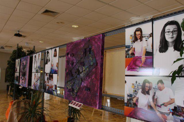 ASPADEM muestra la creatividad de sus alumnos en una exposición colectiva - 1, Foto 1