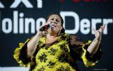 Lola Vega gana el XXI Festival de la Canción Española de Molino Derribao