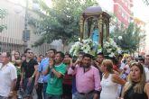 La comunidad ecuatoriana vive sus fiestas en honor a 'La Churonita'