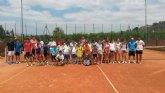 Comienza la escuela de tenis en el Club tenis Totana