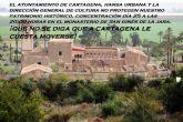 SPCT apoya la concentración en defensa del Monasterio de San Ginés de la Jara