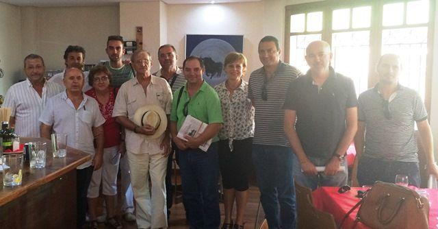 Los dirigentes comarcales de IU Verdes se reúnen en Totana, Foto 1