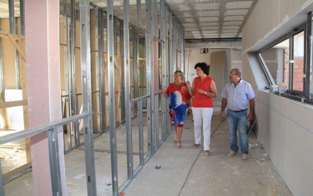 Continúan las obras de la nueva guardería pública junto al colegio Asunción Jordán con la que se habilitará un centro de educación infantil junto a cada uno de los 4 colegios del municipio - 1, Foto 1