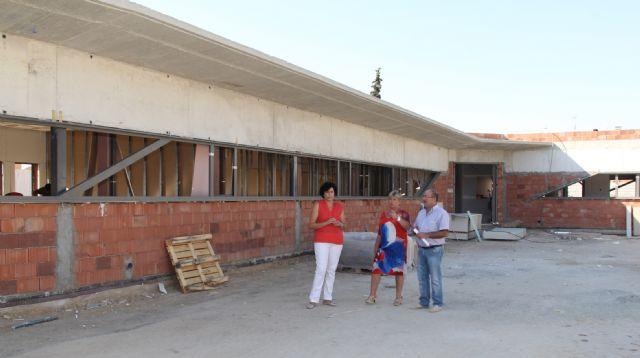 Continúan las obras de la nueva guardería pública junto al colegio Asunción Jordán con la que se habilitará un centro de educación infantil junto a cada uno de los 4 colegios del municipio - 2, Foto 2
