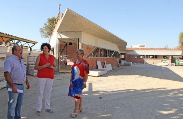Continúan las obras de la nueva guardería pública junto al colegio Asunción Jordán con la que se habilitará un centro de educación infantil junto a cada uno de los 4 colegios del municipio - 3, Foto 3