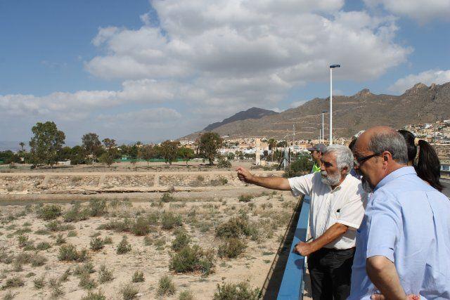 El pleno insta a la Confederación Hidrográfica a reparar el margen final de la rambla de Las Moreras, Foto 1