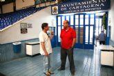 Visita de Carlos Garranzo al concejal de Deportes