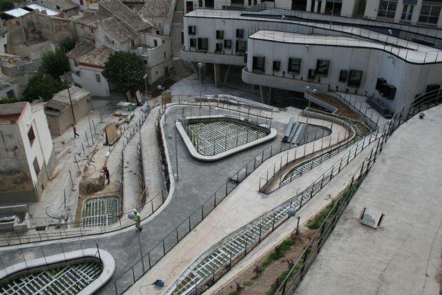 Las obras de El Jardín de El Coso entran en su recta final y estarán terminadas en breve - 4, Foto 4
