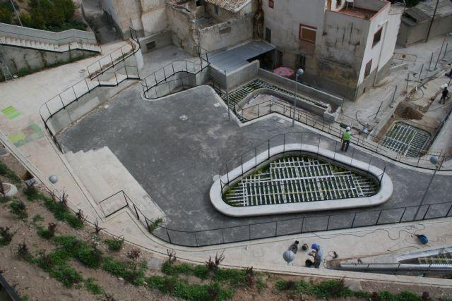 Las obras de El Jardín de El Coso entran en su recta final y estarán terminadas en breve - 5, Foto 5