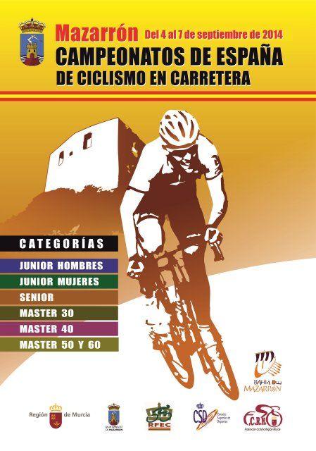 Más de 800 ciclistas participarán en los Campeonatos de España que alberga Mazarrón la próxima semana - 1, Foto 1