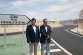La Consejería de Fomento invierte más de 740.000 euros en la mejora de la carretera que conecta Lorca con Zarzadilla de Totana