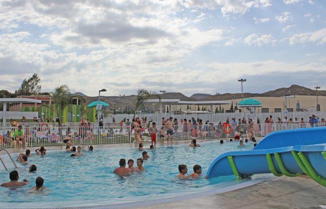 Puerto Lumbreras estrenó sus nuevas piscinas de verano con rotundo éxito y batiendo récord con más de 17.853 bañistas en julio y agosto - 1, Foto 1
