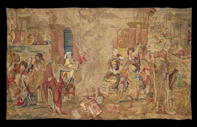 La exposición del tapiz perdido de Enrique VIII recibe casi 3.000 visitas en menos de tres meses - 1, Foto 1