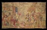 La exposición del tapiz perdido de Enrique VIII recibe casi 3.000 visitas en menos de tres meses