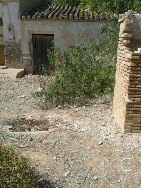 El Grupo Socialista advierte del peligro de un pozo abandonado en Lobosillo en un solar sin vallar - 1, Foto 1