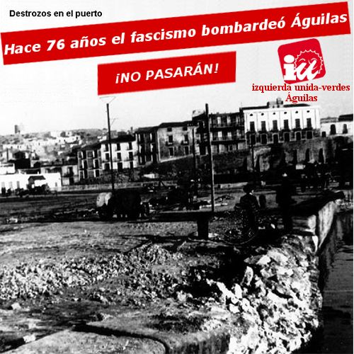 76° aniversario de los bombardeos fascistas sobre Águilas - 1, Foto 1