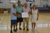 El CFS Pinatar dona 300 euros de taquilla solidaria a Cáritas parroquial