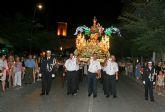 Las Torres de Cotillas quemó su 'Raspajo' para cerrar sus festejos patronales