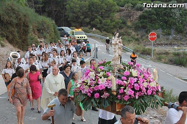 La alcaldesa ped�nea de La Huerta invita a los vecinos de Totana a participar en los festejos que se celebran este fin de semana, Foto 1
