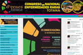 Ya est� en marcha la web del VII Congreso Nacional de Enfermedades Raras