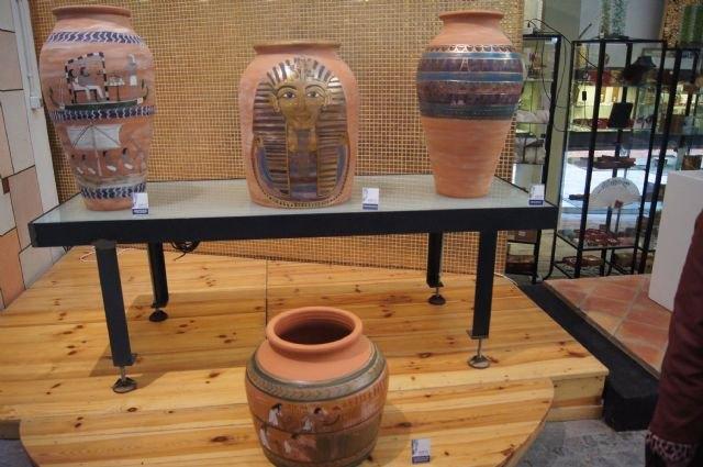 La exposición ´Egipto, Arte y Cultura´ viaja al Centro Regional de Artesanía de Lorca, Foto 1