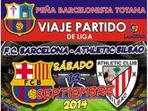 Todavía quedan plazas disponibles para el viaje al partido FC Barcelona – Ath. Bilbao