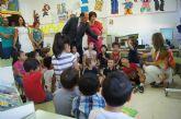 El Consejero de Educación y la Alcaldesa visitan el Colegio de San José