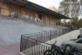 El ayuntamiento mejora la accesibilidad a la ermita de La Huerta con la construcci�n de un paso peatonal
