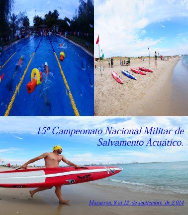 Mazarrón alberga la XV edición de los campenatos nacionales de salvamento acuático - 1, Foto 1