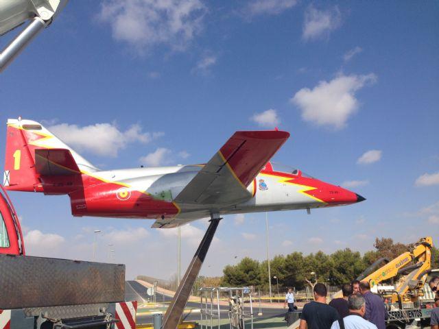 La Academia General del Aire cede un avión a Torre-Pacheco - 1, Foto 1