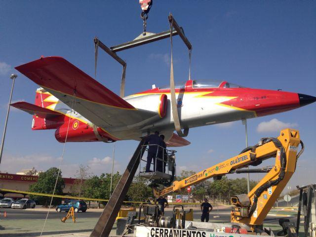 La Academia General del Aire cede un avión a Torre-Pacheco - 2, Foto 2
