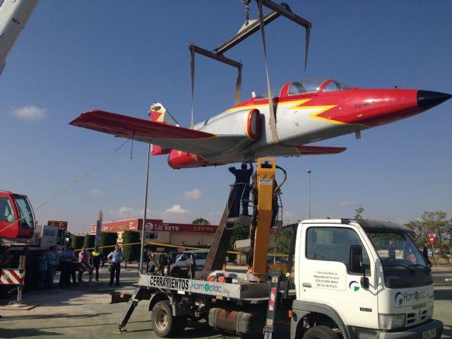 La Academia General del Aire cede un avión a Torre-Pacheco - 3, Foto 3