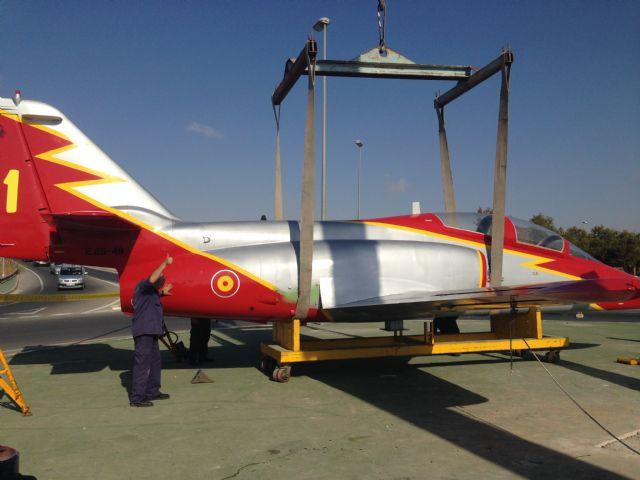 La Academia General del Aire cede un avión a Torre-Pacheco - 4, Foto 4