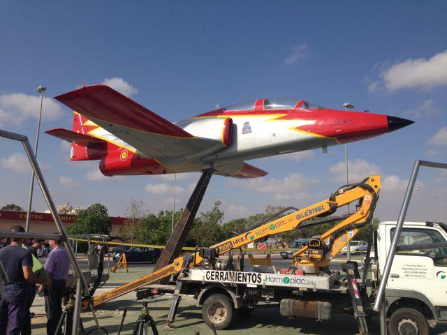 La Academia General del Aire cede un avión a Torre-Pacheco - 5, Foto 5