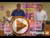 La V Feria Outlet de Totana congregará 25 expositores en la Plaza de la Constitución