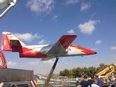 La Academia General del Aire cede un avión a Torre-Pacheco