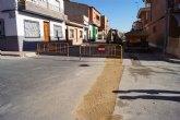 El Servicio Municipal de Aguas acomete obras de restitución en un tramo de la tubería de saneamiento en la Calle San Antonio