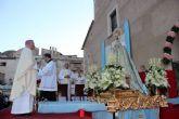 Los ciezanos vivieron ayer con alegría la coronación canónica de su patrona