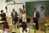 El Consejero de Educación y el Alcalde de Molina de Segura visitan el IES Eduardo Linares Lumeras con motivo del inicio de las clases en Secundaria