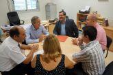 El secretario general de la Consejería de Educación visita el IES 'La Florida' torreño